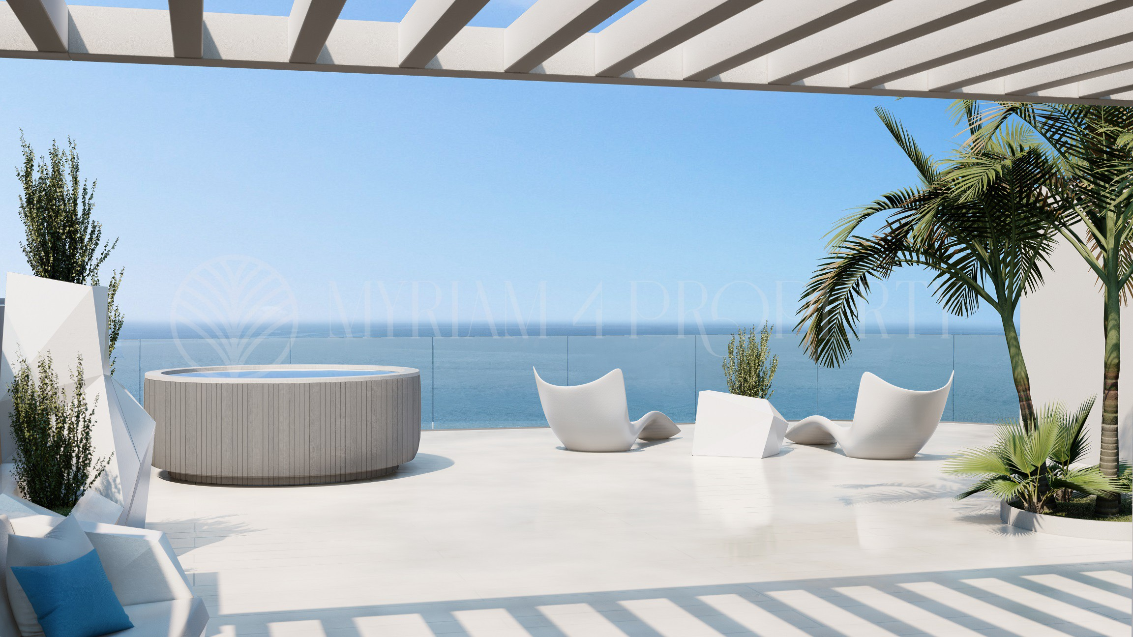 Stunning second beach line apartments in Fuengirola