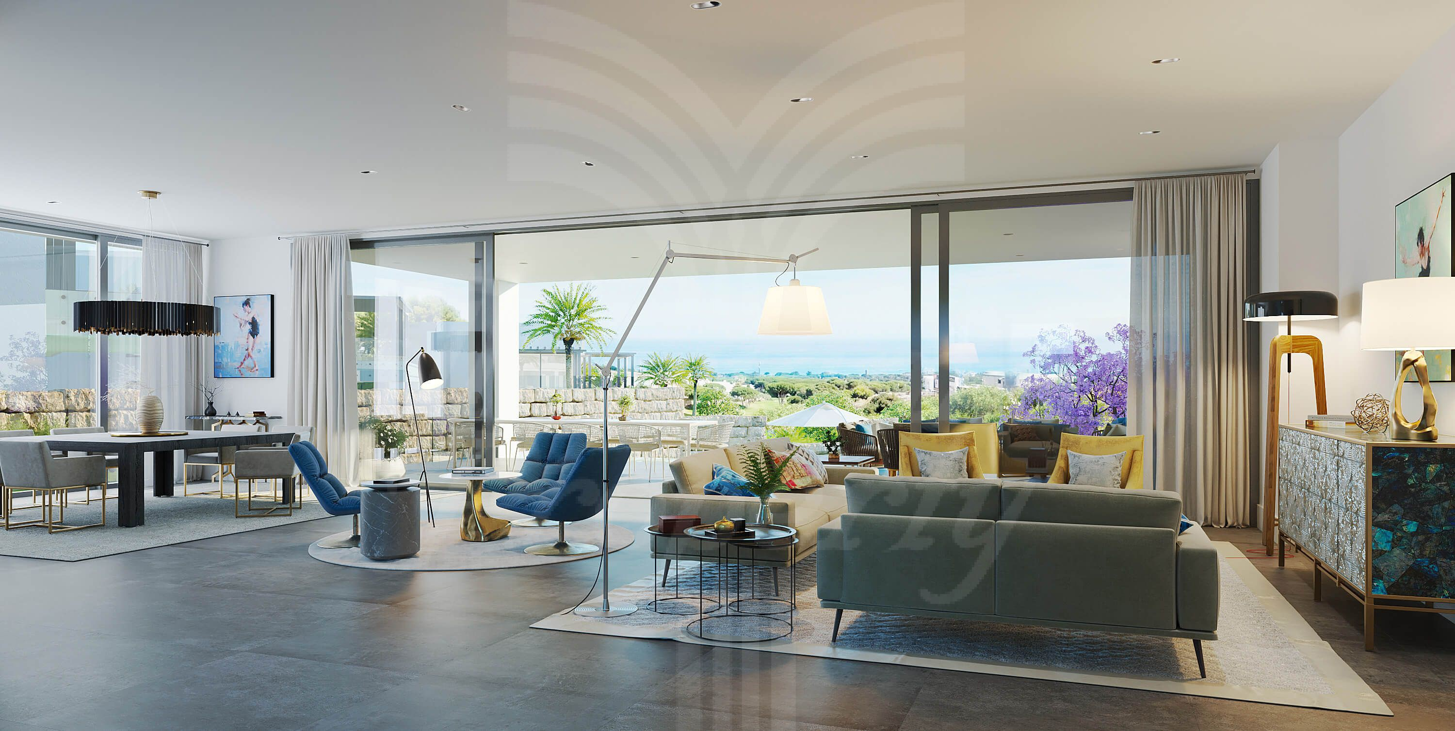 Exclusive villas with sea views in Marbella